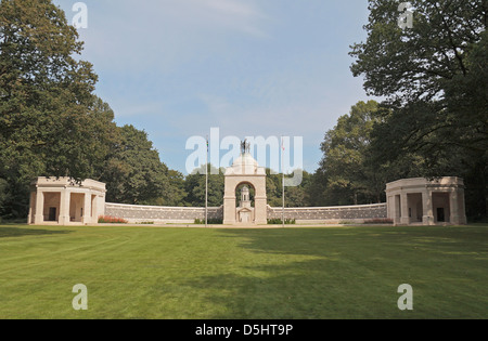 The South African National Memorial at Delville Wood, Somme, France. - Stock Photo