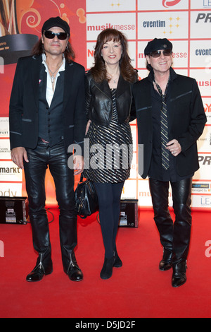 Scorpions at Lea Live Entertainment Awards at Festhalle. Frankfurt, Germany - 05.04.2011. - Stock Photo