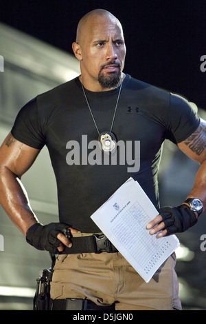 DWAYNE JOHNSON FAST FIVE (2011) - Stock Photo