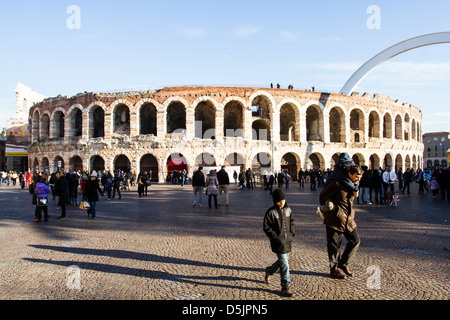 Arena di Verona (Verona Arena). - Stock Photo