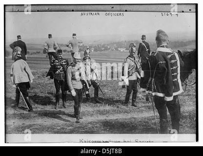 Austrian Officers (LOC) - Stock Photo