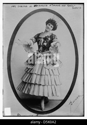 May Scheider as Zerbinetta in 'Ariadne auf Naxos' (LOC) - Stock Photo
