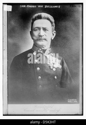 Gen. Conrad von Hotzendorf (LOC) - Stock Photo