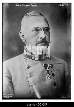 Gen. Victor Dankl (LOC) - Stock Photo