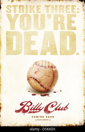 BASEBALL MOVIE POSTER BILLY CLUB (2012)