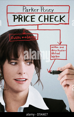 PARKER POSEY POSTER PRICE CHECK (2012) - Stock Photo