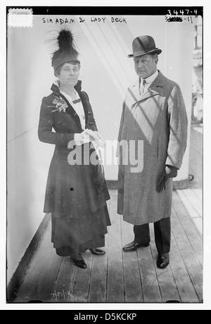 Sir Adam and Lady Beck (LOC) - Stock Photo
