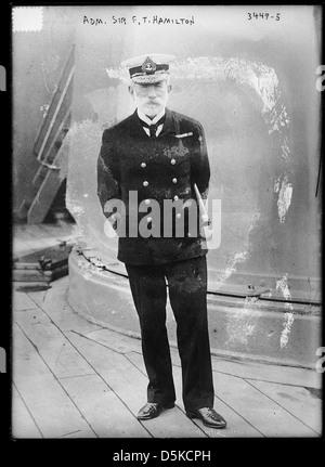 Adm. Sir F.T. Hamilton (LOC) - Stock Photo
