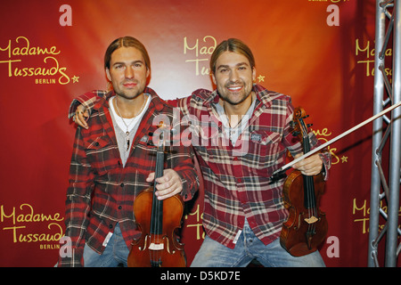 David Garrett unveils his wax figure at Madame Tussauds Berlin. Berlin, Germany - 16.06.2011 - Stock Photo