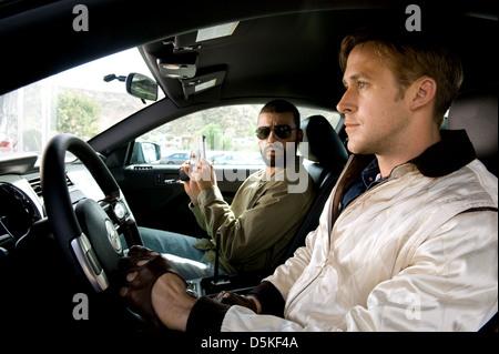 OSCAR ISAAC & RYAN GOSLING DRIVE (2011) - Stock Photo