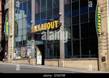 Walkabout an Australian themed bar on Renfield Street in Glasgow city centre, Scotland, UK - Stock Photo