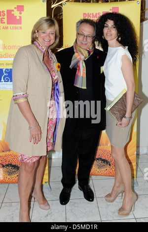 Claudia Rutt and Dieter Kosslick and Janine White at the DKMS Ladies Lunch at Hotel Alliance. Berlin, Germany - - Stock Photo