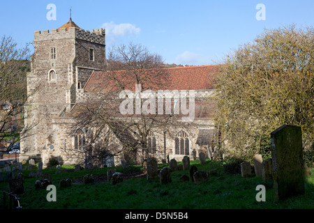 All Saints Church, Hastings, East Sussex - Stock Photo