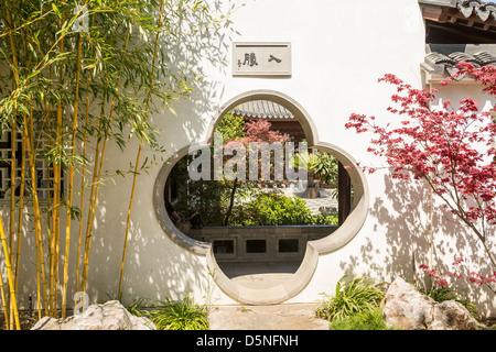 Chinese Garden at the Huntington Library. - Stock Photo