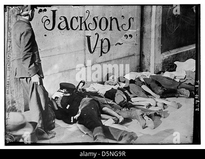 Baseball deadheads, Cleveland (LOC) - Stock Photo