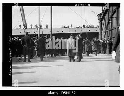 Arrival OLYMPIC (LOC) - Stock Photo
