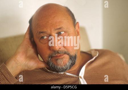 Donald Pleasance actor 1979 UK - Stock Photo