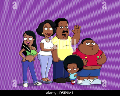 JR.,TUBS,BROWN,TUBBS,TUBBS, THE CLEVELAND SHOW, 2009 Stock