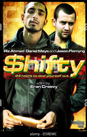 RIZ AHMED & DANIEL MAYS POSTER SHIFTY (2008) - Stock Photo