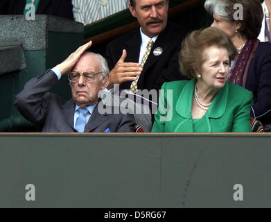 Archive: Margaret Thatcher        1925-2013          Picture taken July 7, 2000           Former Prime Minister - Stock Photo