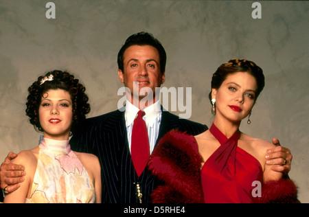 MARISA TOMEI, SYLVESTER STALLONE, ORNELLA MUTI, OSCAR, 1991 - Stock Photo