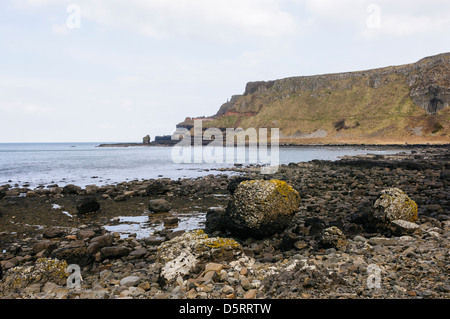 The Amphitheater at the Giant's Causeway - Stock Photo