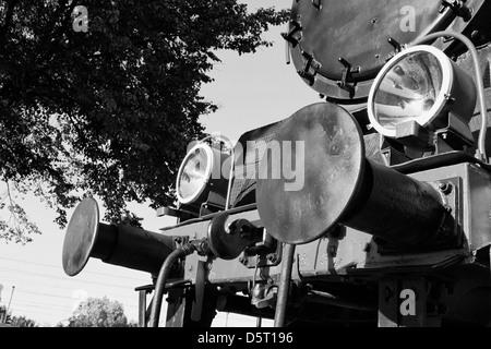 locomotive black - Stock Photo