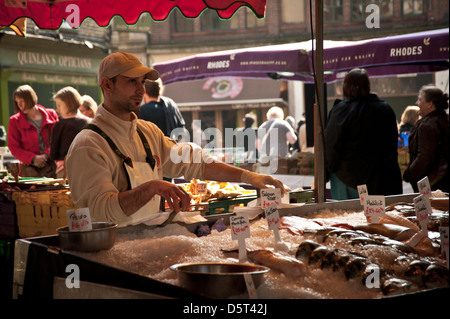 Borough Farmers Market, London - Stock Photo