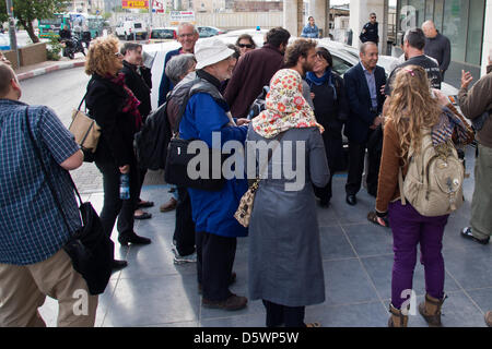 Jerusalem, Israel. 9-Apr-2013. Zochrot (Remembering), an NGO seeking to raise public awareness of the Palestinian - Stock Photo