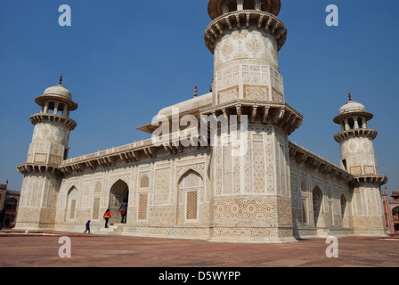 Itmad Ud Daulah's tomb, Agra, India. - Stock Photo