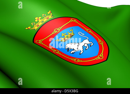 Flag of Pamplona - Stock Photo