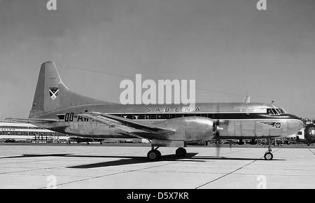Convair 240-12 'Convair-Liner' (OO-AWT) Sabena Airlines. - Stock Photo