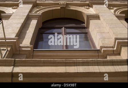 Window in a city building - Stock Photo