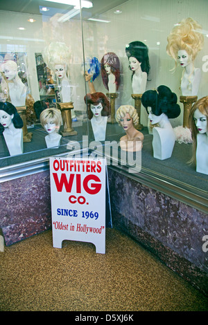 Wigs Hollywood Blvd Hollywood Los Angeles California