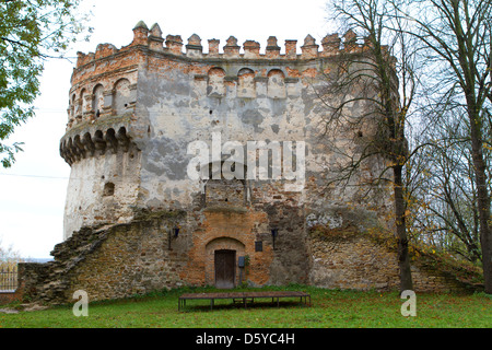 The old-time castle XVI ages. Ostrog. Ukraine - Stock Photo