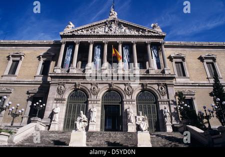 Museo Arqueologico and Biblioteca Nacional - Stock Photo