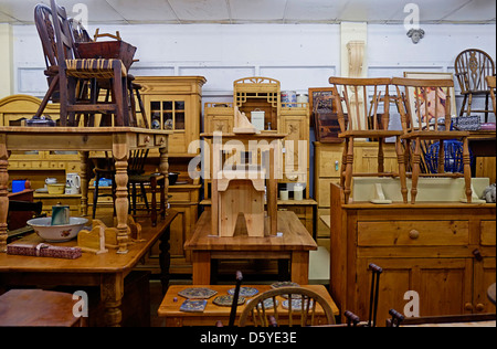 ... Antique furniture shop in Ireland - Stock Photo - Artifacts For Sale In Antique Shop Cochin In Kerala, South India