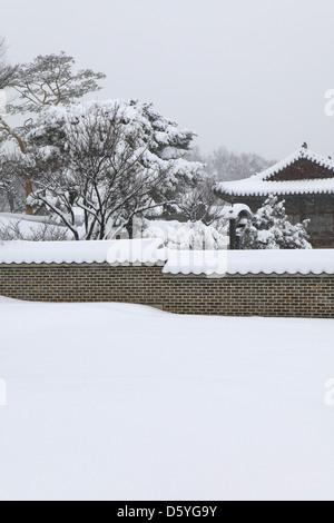 Changgyeonggung Palace in Seoul - Stock Photo