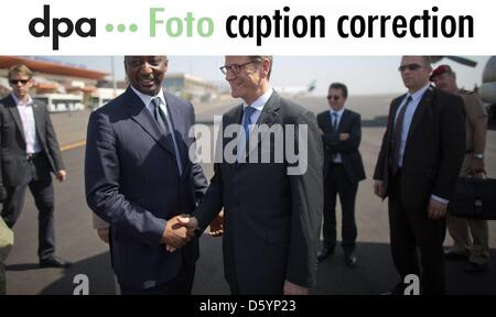 Dear customers, please note that the name of Mali's Foreign Minister of Foreign Affairs was incorrect in the pictures - Stock Photo