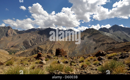 India, Jammu and Kashmir, Ladakh, landscape - Stock Photo