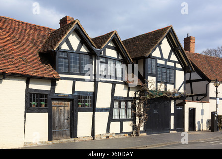 16th century Old Town Croft timbered house grade II listed building in Stratford-upon-Avon, Warwickshire, England, - Stock Photo