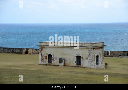 El Morro, San Juan National Historic Site, San Juan, Puerto Rico - Stock Photo