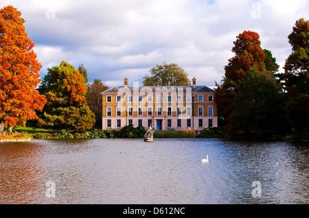 autumn at Kew Gardens - Stock Photo