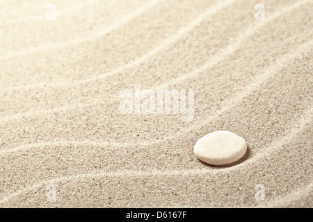 Sand Background With White Stone Sandy Beach Texture