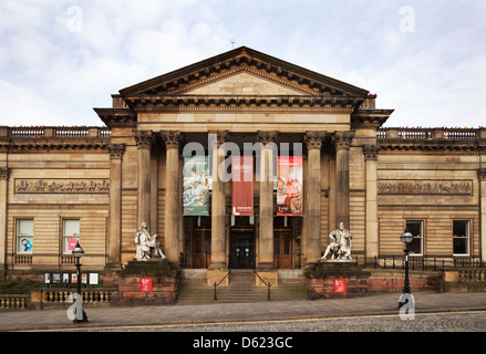 The Walker Art Gallery built 1860,  William Brown Street, Liverpool, Merseyside, England - Stock Photo