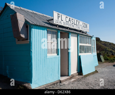 Casley's workshop and Gift shop. Most Southerly Point on the Lizard Peninsula Cornwall England UK - Stock Photo