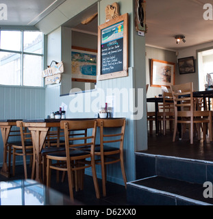 Polpeor Cafe, Most Southerly Point on the Lizard Peninsula Cornwall England UK - Stock Photo