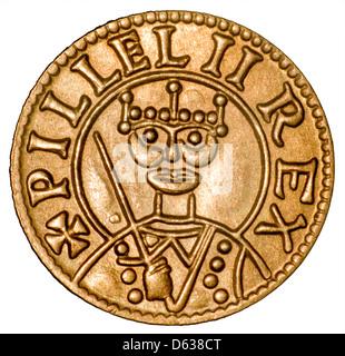 Coin of William I (the Conqueror) Replica - Stock Photo