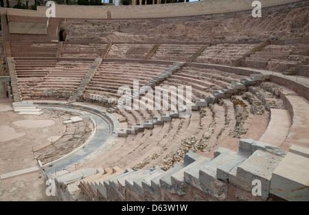 Teatro Romano, Cartagena, Spain - Stock Photo
