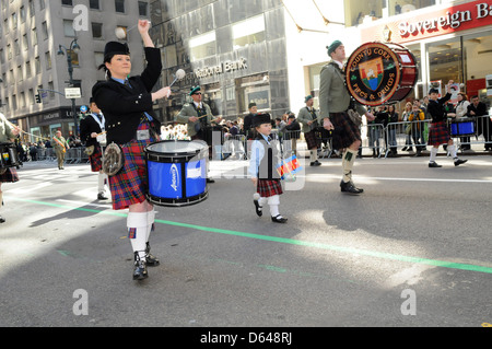 Atmosphere 250th Annual St. Patrick's Day Parade New York City, USA - Stock Photo